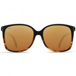 Von Zipper Women's Castaway Polarized Sunglasses - Black Tortoise Fade/Gold Glow