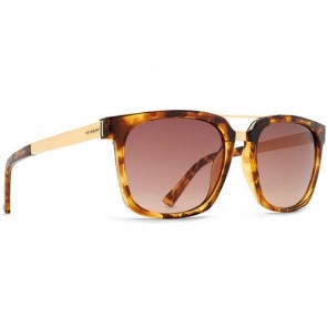 Von Zipper Plimpton Sunglasses - Tortoise Gold/Bronze Gradient
