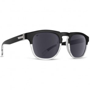 Von Zipper Banner Polarized Sunglasses - Black Crystal/Silver Glo