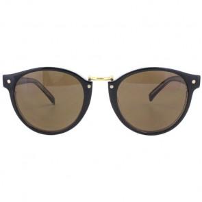 Von Zipper Stax Sunglasses - Black Crystal/Bronze