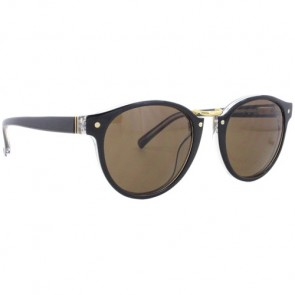 Von Zipper Stax Sunglasses - Black Crystal/Bronze