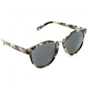 Von Zipper Stax Sunglasses - White Tortoise/Grey