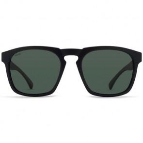 Von Zipper Banner Polarized Sunglasses - Black Satin/Wild Vintage Grey