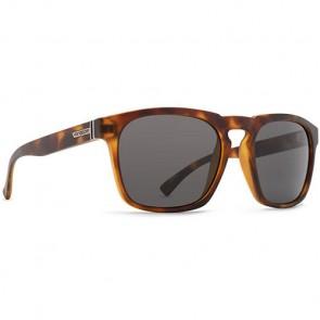 Von Zipper Banner Sunglasses - Tortoise Satin/Grey