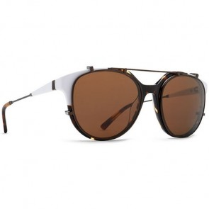 Von Zipper Hyde Sunglasses - White Tortoise/Bronze
