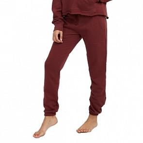 RVCA Women's Pinner Sweat Pants - Magenta Fade
