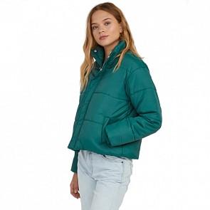 RVCA Women's Eezeh Puffer Jacket - Vine