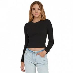 RVCA Women's Terminal Long Sleeve Thermal Top - Black