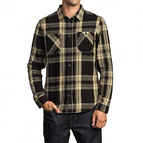 RVCA Wanted Flannel - Black