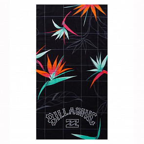 Billabong Waves Towel - Black