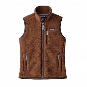 Patagonia Women's Retro Pile Fleece Vest - Moccasin Brown