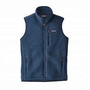 Patagonia Women's Retro Pile Fleece Vest - Stone Blue