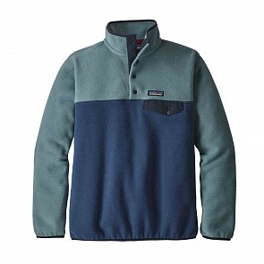 Patagonia Women's Lightweight Synchilla Snap-T Fleece Pullover - Stone Blue