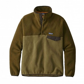 Patagonia Lightweight Synchilla Snap-T pullover - Cargo Green