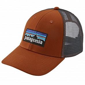 Patagonia P-6 LoPro Trucker Hat - Copper Orange