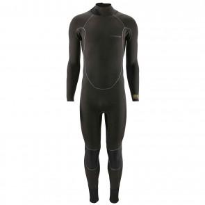 Patagonia R3 Yulex 4.5/3.5 Back Zip Wetsuit - Black