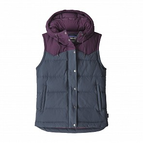 Patagonia Women's Bivy Down Hooded Vest - Smolder Blue
