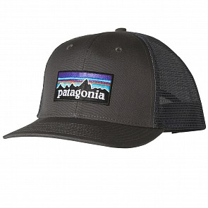 Patagonia P-6 Trucker Hat - Forge Grey