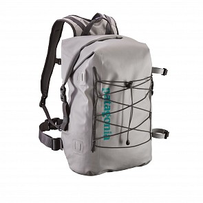 Patagonia Stormfront Roll Top 45L Backpack - Drifter Grey
