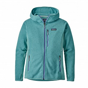 Patagonia Women's Perfect Better Sweater Zip Hoody - Dam Blue
