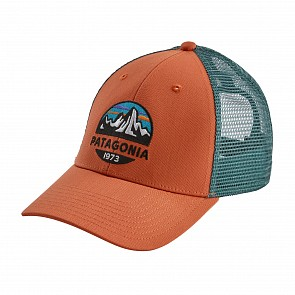 Patagonia Fitz Roy Scope LoPro Trucker Hat - Sunset Orange