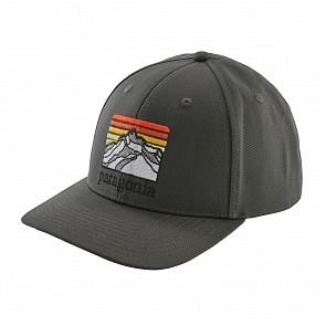 Patagonia Line Logo Ridge Roger That Trucker Hat - Forge Grey