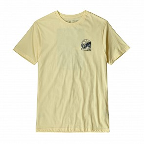 Patagonia Cosmic Peaks Organic T-Shirt - Resin Yellow