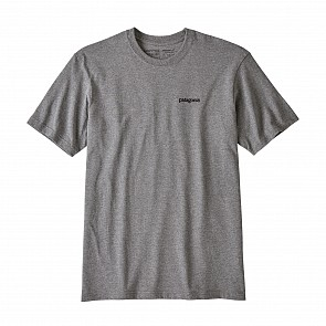 Patagonia Fitz Roy Horizons Responsibili-T Shirt - Gravel Heather