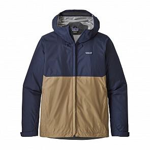 Patagonia Torrentshell Jacket - Classic Navy/Mojave Khaki
