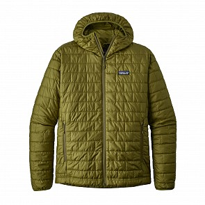 Patagonia Nano Puff Hoody Jacket - Willow Herb Green