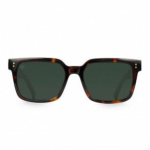 Raen West Polarized Sunglasses - Koala Tortoise/Green