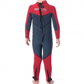 Rip Curl Youth Dawn Patrol 4/3 Back Zip Wetsuit