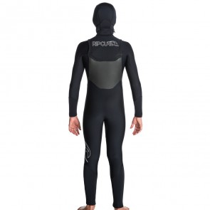 Rip Curl Youth Dawn Patrol 5/4 Hooded Chest Zip Wetsuit
