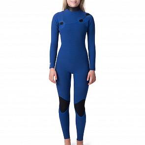 Rip Curl Women's G-Bomb 4/3 Zip Free Wetsuit