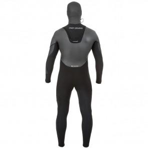 Rip Curl Flash Bomb Heat Seeker 6/4 Hooded Zip Free Wetsuit