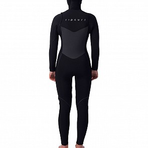 Rip Curl Women's Flashbomb 5/4 Hooded Chest Zip Wetsuit