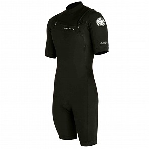 Rip Curl Aggrolite 2mm Short Sleeve Chest Zip Spring Suit