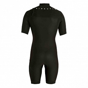 Rip Curl Aggrolite 2mm Short Sleeve Chest Zip Spring Wetsuit