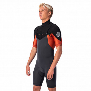 Rip Curl Dawn Patrol 2mm Short Sleeve Chest Zip Spring Wetsuit