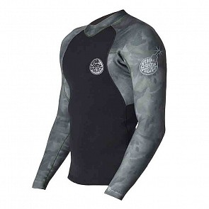 Rip Curl E-Bomb Pro 1.5mm Long Sleeve Jacket - Camo