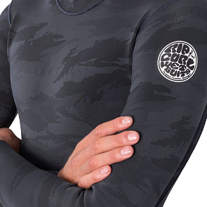 Rip Curl Dawn Patrol 1.5mm Long Sleeve Jacket - Camo