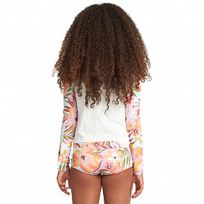 Billabong Youth Dreamy Daze Long Sleeve Rash Guard Set - Multi