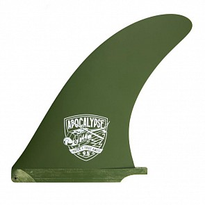"True Ames Fins 9.5"" Yater Apocalypse Fin - Army Green"