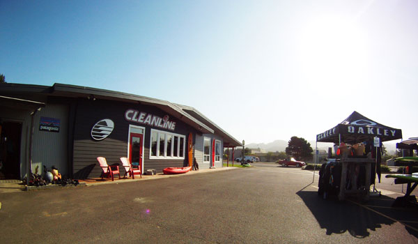 Cleanline Surf Shop in Seaside, Oregon