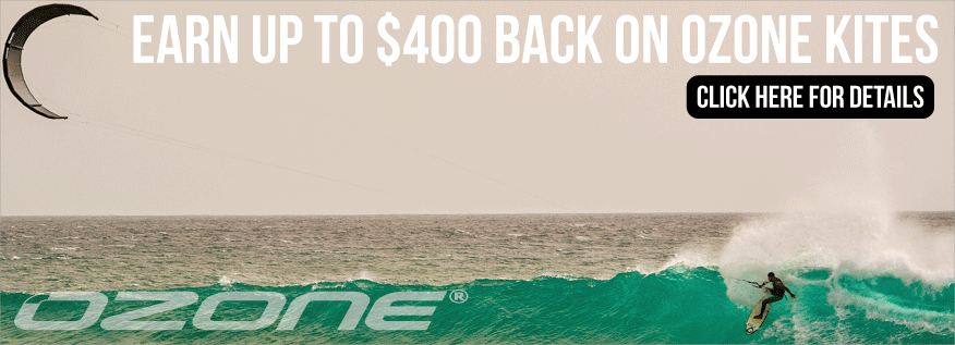 Earn Up To $400 Back On Ozone Kites
