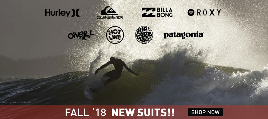 New Fall 2018 Surfing Wetsuits
