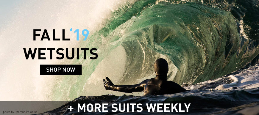 New Fall 2019 Surfing Wetsuits